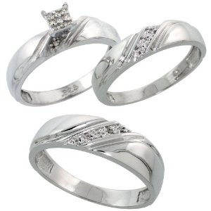the very best wedding rings for men and women - Men And Women Wedding Ring Sets